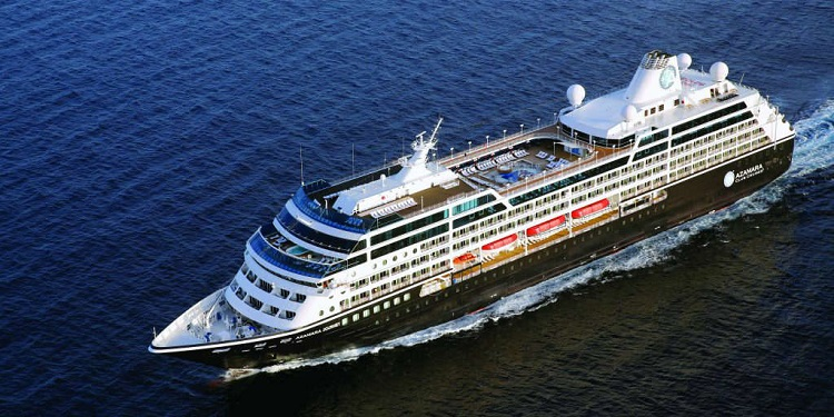 Exterior view of Azamara Journey