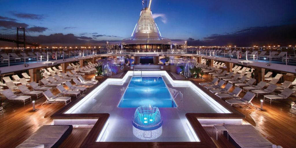 Oceania Riviera - Evening on-board