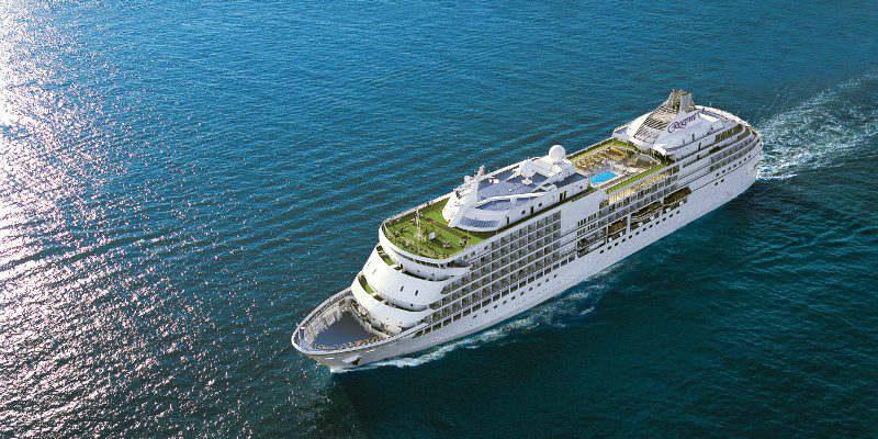 Seven Seas Navigator exterior ship