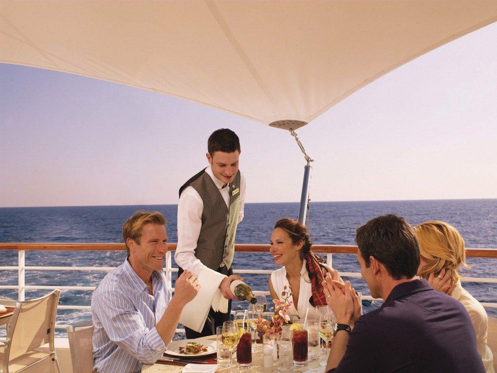 Seabourn Waiter