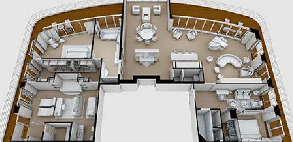 regent suite plan