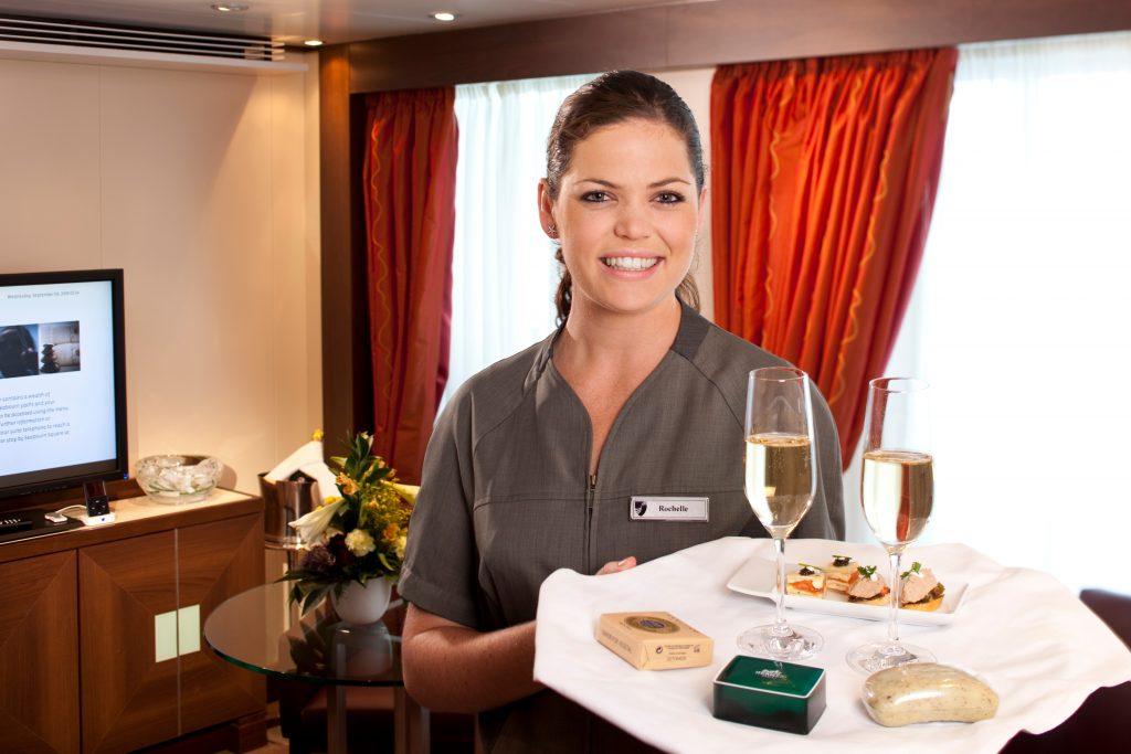 Seabourn Stewardess