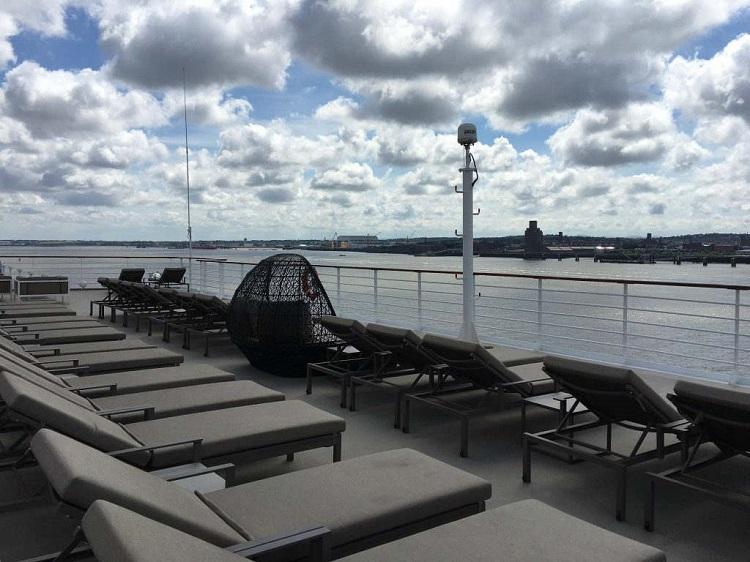 Sun-deck on-board Azamara Quest