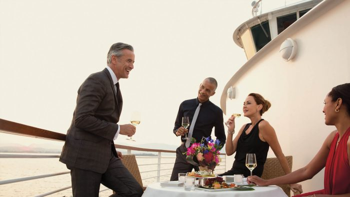 Seabourn party