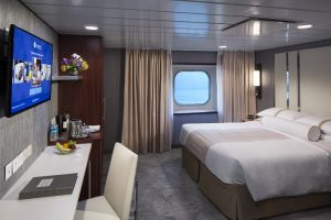 Oceanview stateroom on-board Azamara Quest