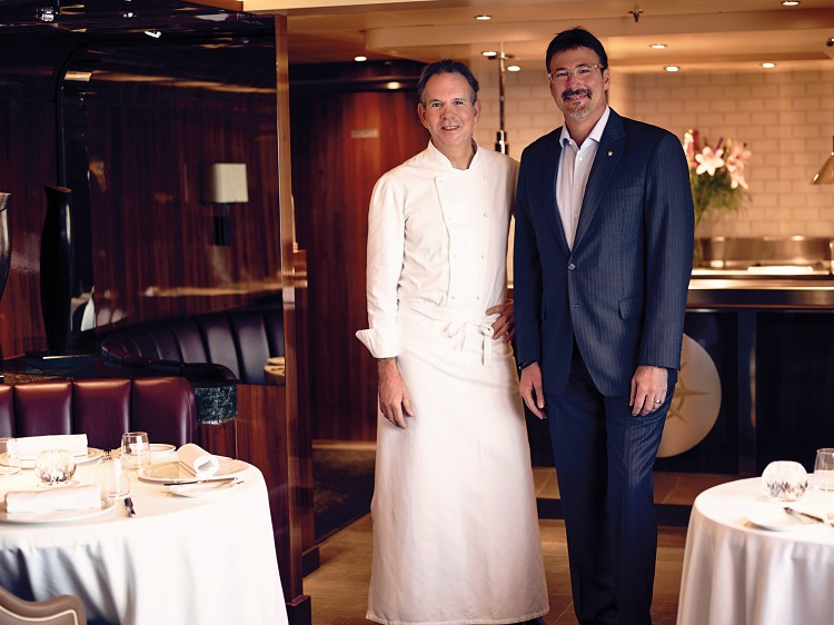 Michelin-starred chef, Thomas Keller, on-board Seabourn Encore