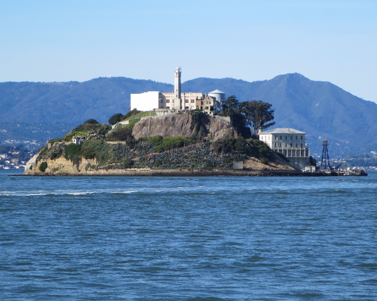 The Rock - a popular sight-seeing destination of Alcatraz