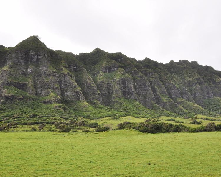Jurassic Park film location - the pristine beaches of Hawaii