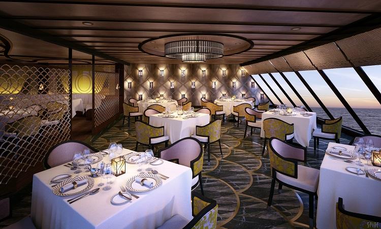 Regent Seven Seas Explorer Chartreuse restaurant