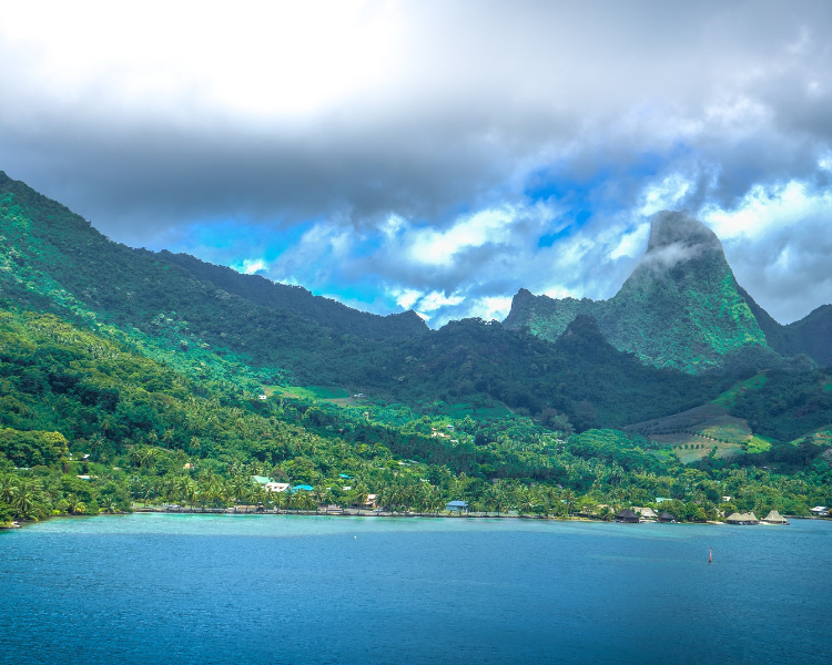 Tahiti - a popular cruise destination in the South Pacific