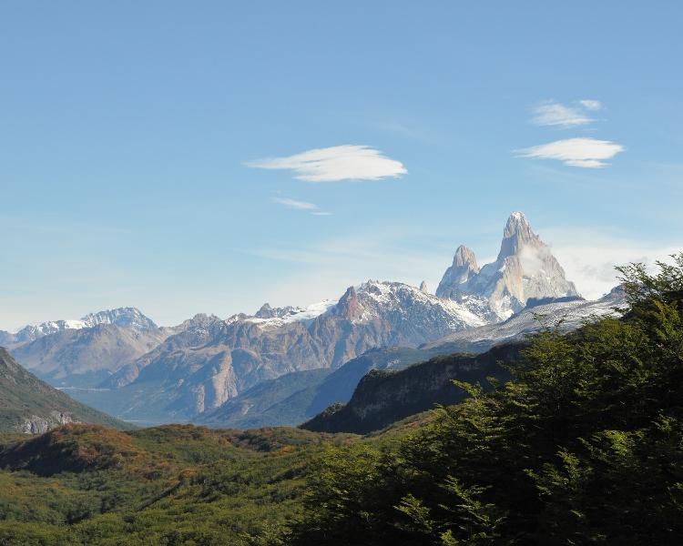 Beautiful scenery of Chile's landscape