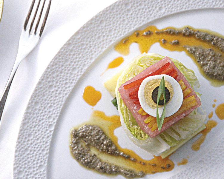 Luxurious food served on Regent Seven Seas cruises