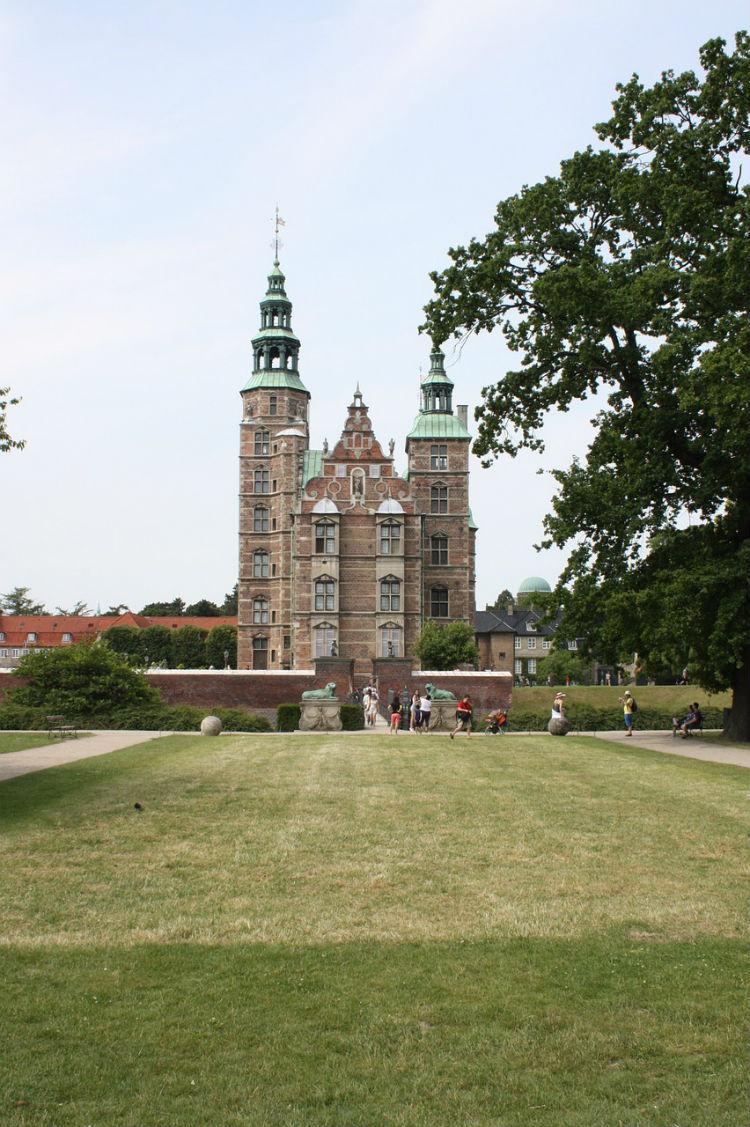 Rosenborg Castle gardens in Copenhagen