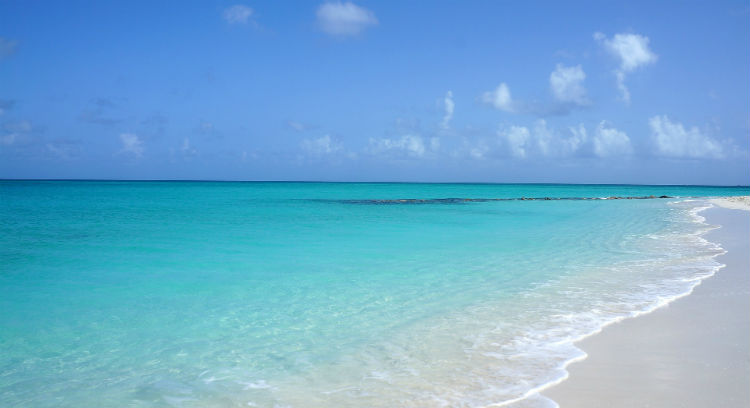 Grace Bay Beach, Turks and Caicos - The Caribbean
