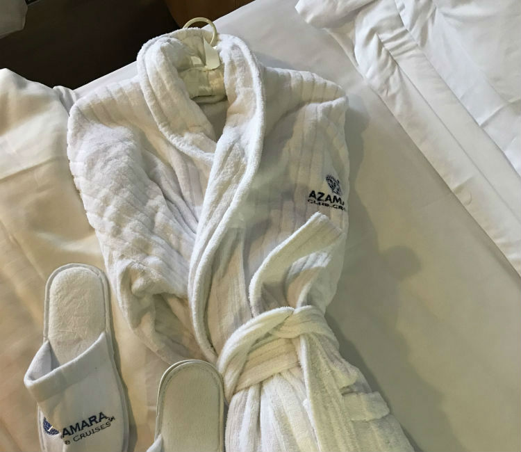 Bath robes - Azamara Pursuit