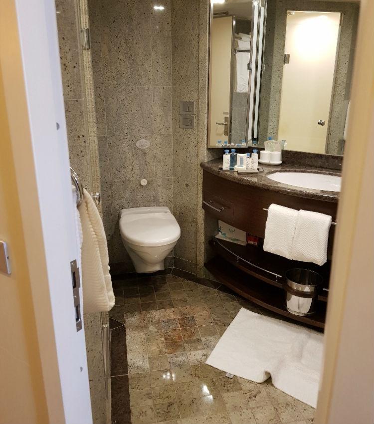 Balcony Stateroom, Bathroom - Oceania Marina