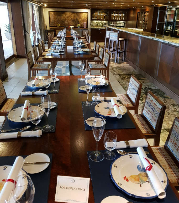 La Reserve - Dining venue on-board Oceania Marina