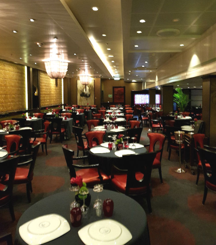 Red Ginger - Dining venue on-board Oceania Marina