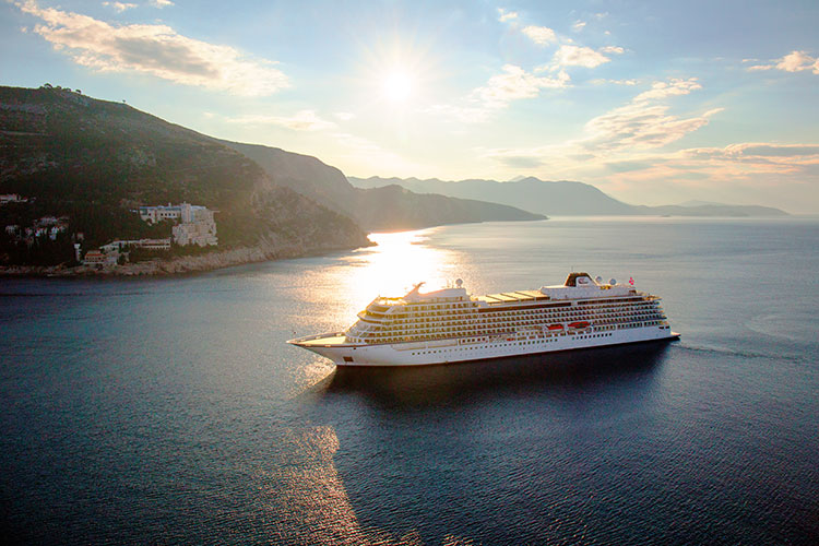 Viking Sun in Dubrovnik