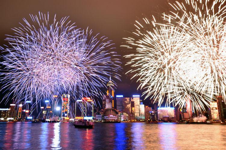 Hong Kong - Fireworks