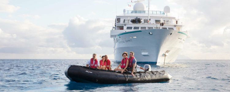 Group excursion on Crystal Cruises
