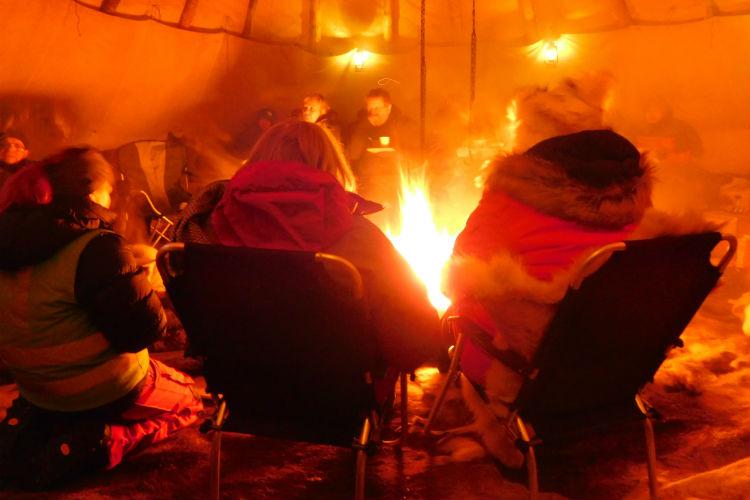 Sami Camp - Norway