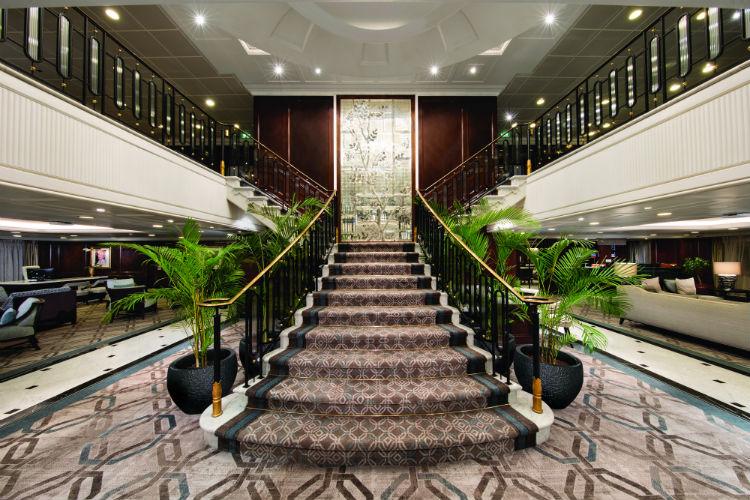 Grand Staircase - Oceania Insignia