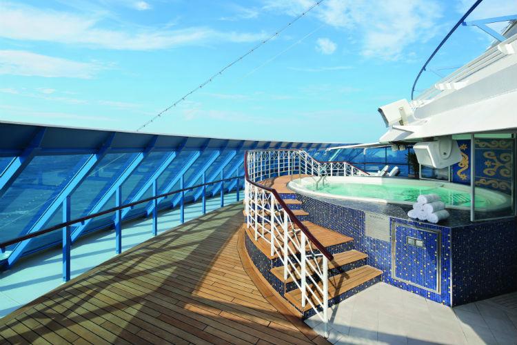 Spa Terrace - Oceania Insignia