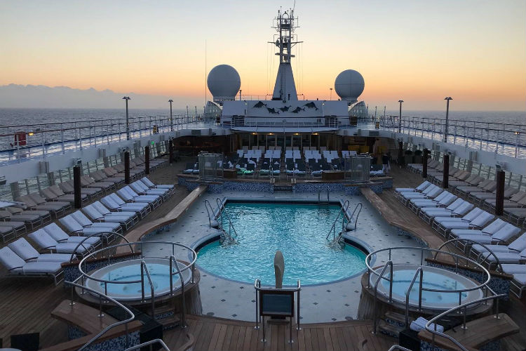 Pool on-board Voyager