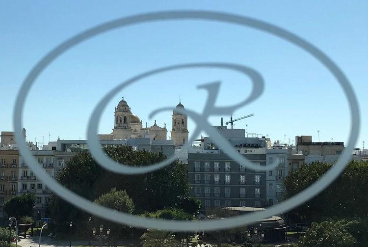 Regent Logo in the window