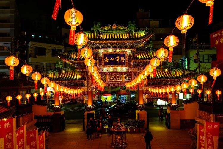 Chinatown in Yokohama - Japan