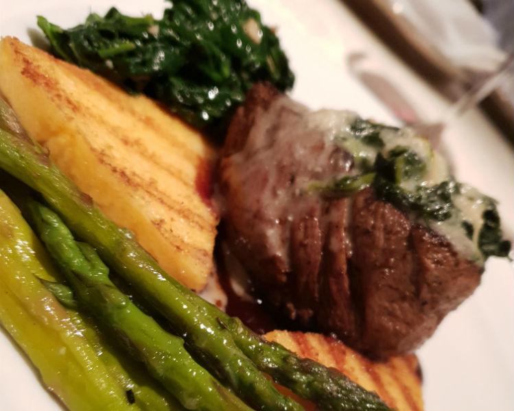 Gorgonzola beef - Dining on-board Insignia