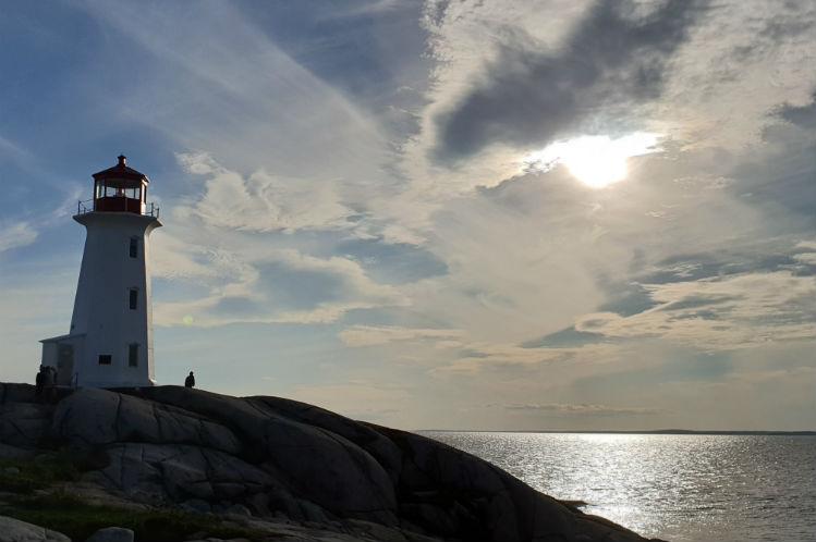 Peggy's Cove - Lighthouse on the coastline