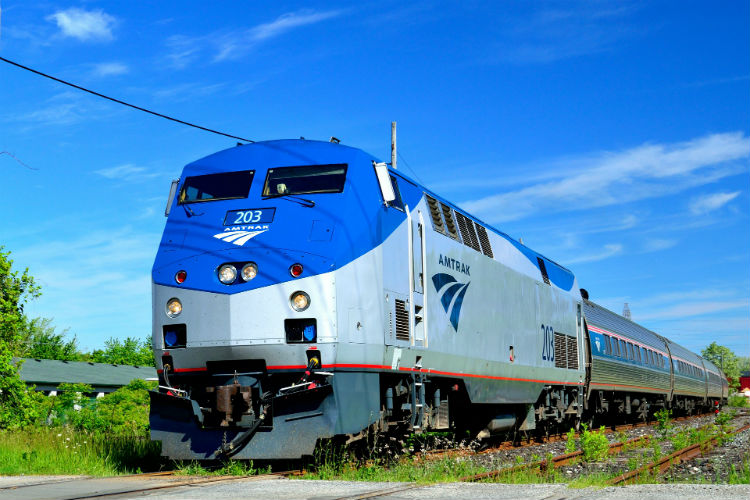 Amtrak train - North America
