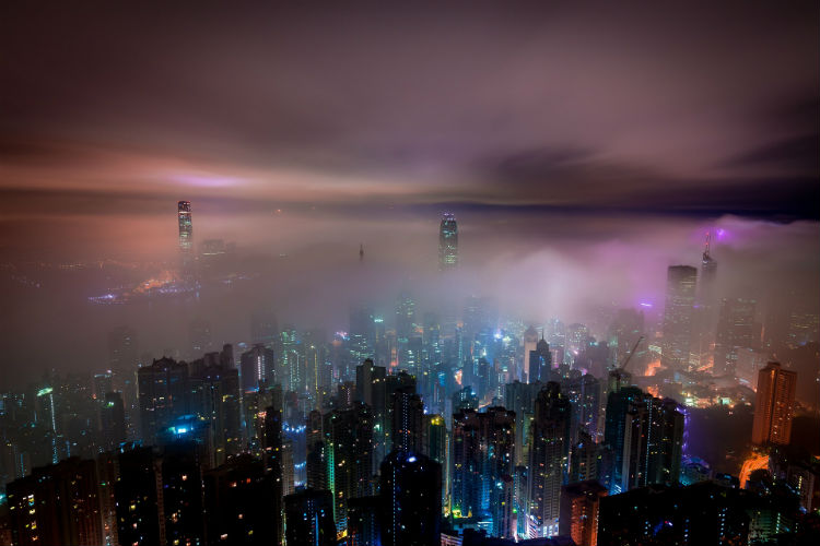 Hong Kong cityscape - China