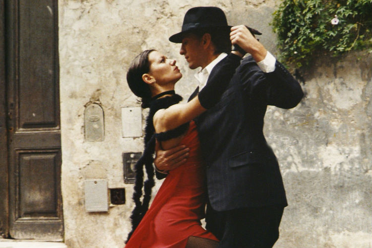 Couple dancing the tango - Argentina, South America