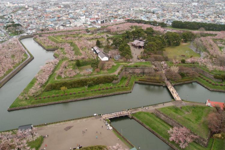 Fort Goryokaku, Hakodate, Japan