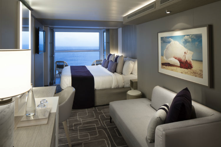 Edge Stateroom Infinite Balcony - Celebrity Edge