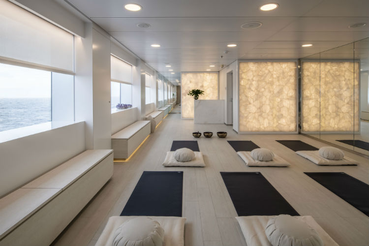 Yoga and Pilates Studio - Scenic Eclipse - Scenic Ocean
