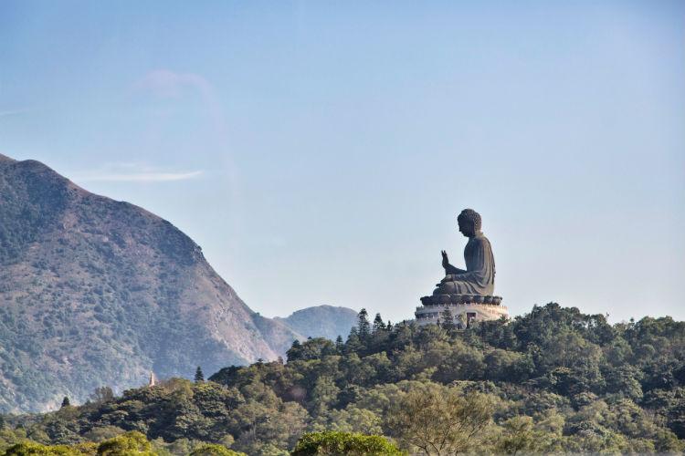 Buddha on Lantau Island - Hong Kong
