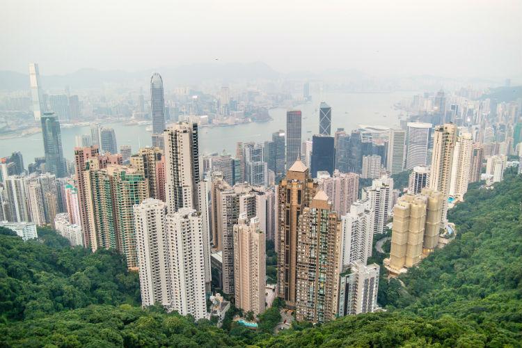 Cityscape of Hong Kong - China