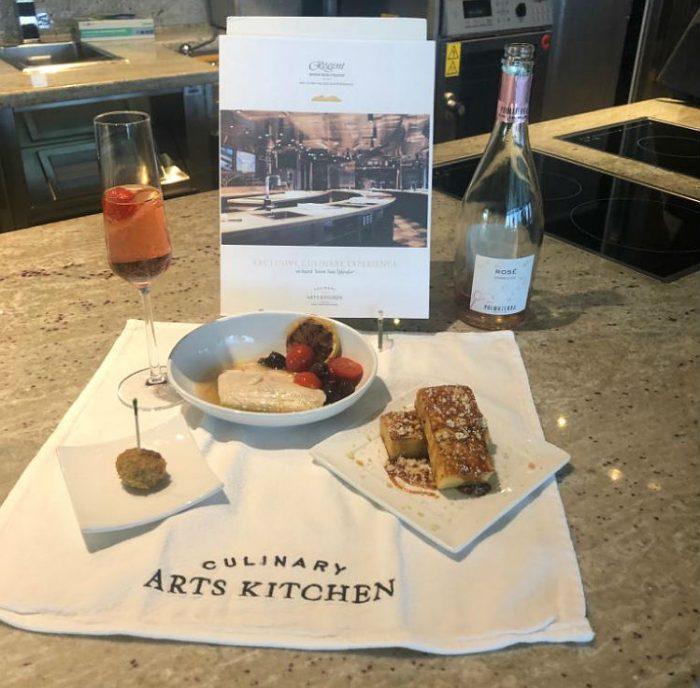 Culinary Arts Kitchen - Regent Seven Seas Cruises
