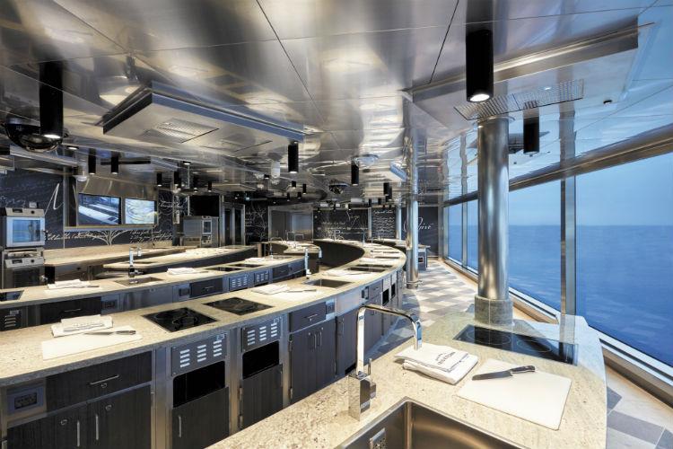 Culinary Arts Kitchen - Regent Seven Seas