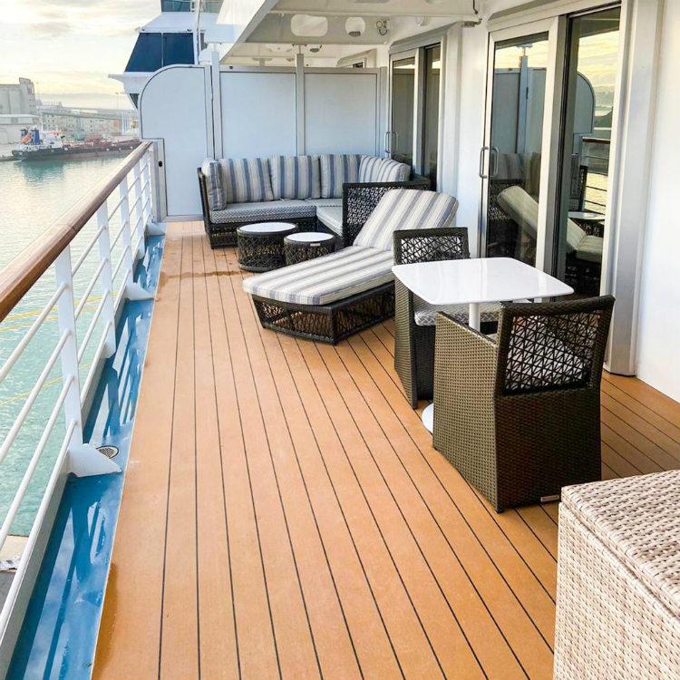 Seven Seas Splendor - Splendor Suite balcony