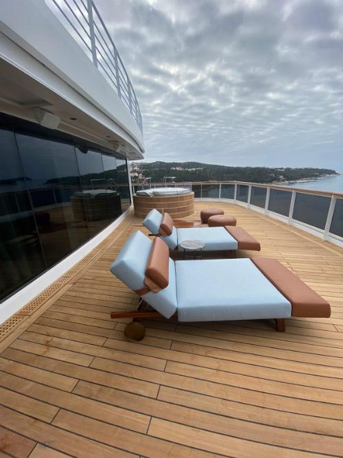 Regent Suite balcony