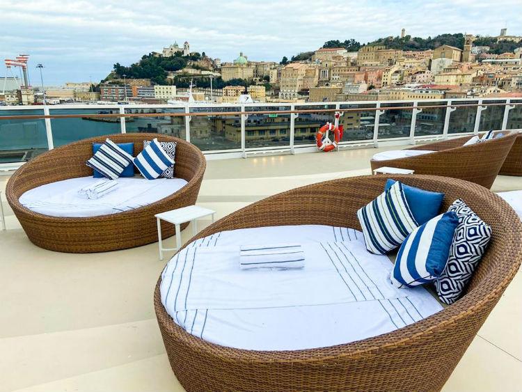 Regent Seven Seas Splendor top deck