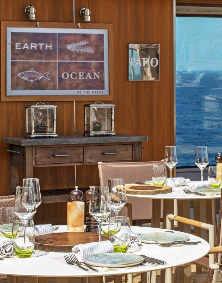 Earth and Ocean at The Patio