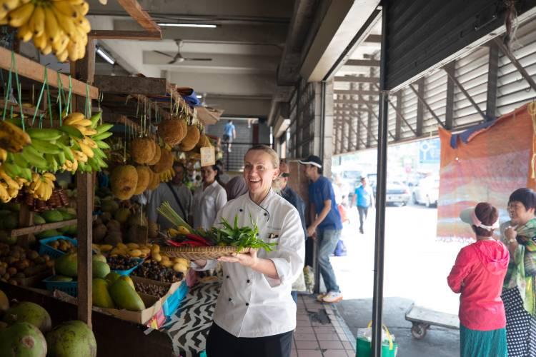 Silversea Chef in Malaysia