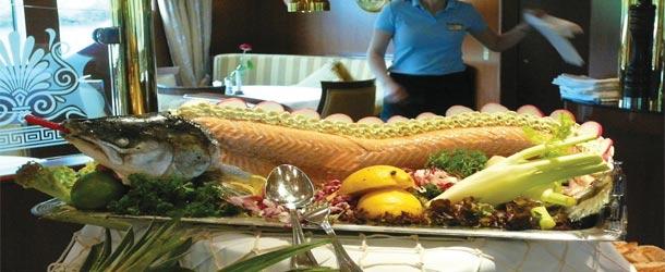 Gourmet dining cruises