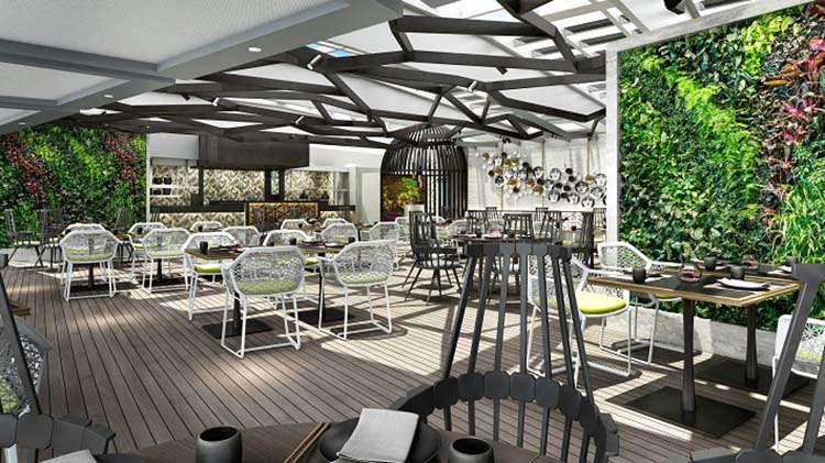 Crystal Serenity - Restaurant redesign